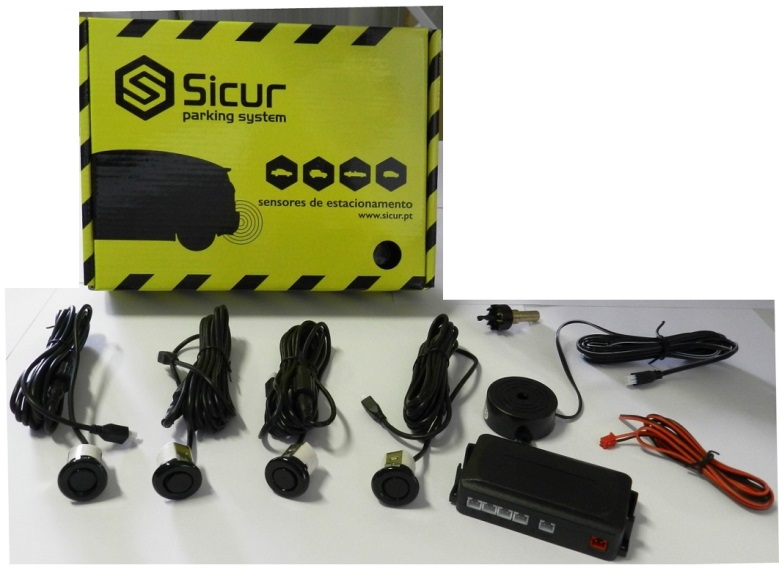 Sensores de Parqueamento Traseiros 18,5mm Sicur SCP141
