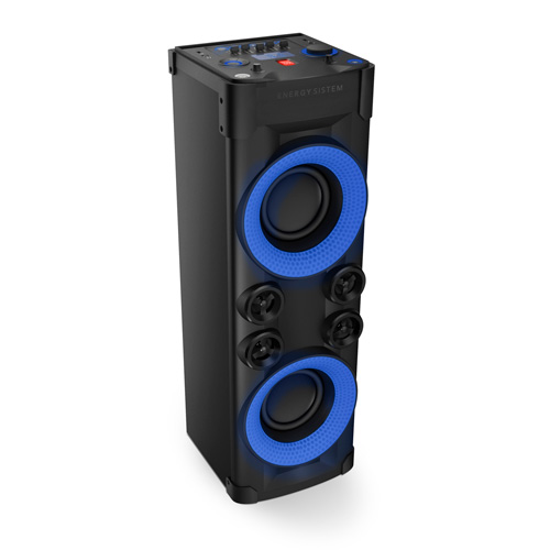 Torre Som Bluetooth Energy Party 6 240W Energy Music Power 600 Party Lights , USB , Microfone