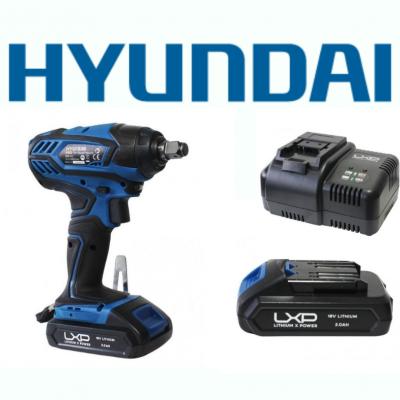 Berbequim Impacto 18V Hyundai + Bateria + Carregador