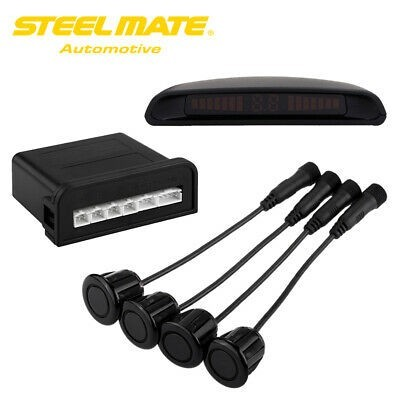 Kit Sensores de Marcha Atrás Steel Mate com Display PTSC2