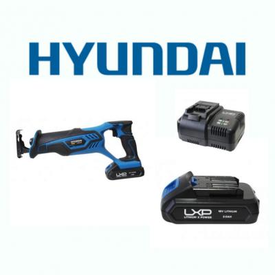 Serra de Sabre 18V Hyundai + Bateria + Carregador
