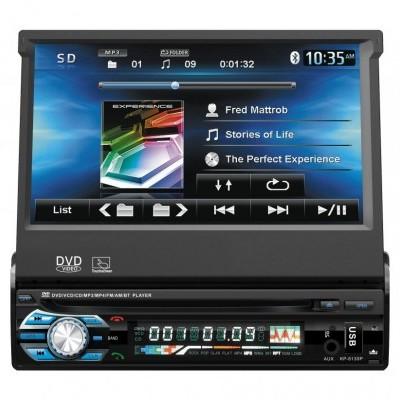 Autorrádio Sicur Flip Out Multimédia DVD RDS USB SD SCDM501