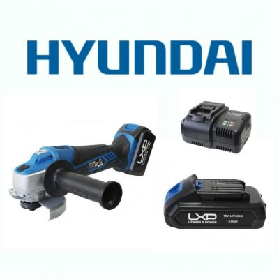 Mini Rebarbadora 115mm 18V Hyundai + Bateria + Carregador