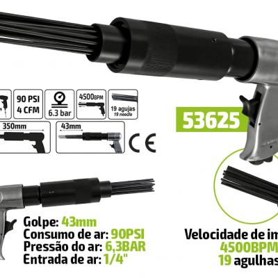 MARTELO DE AGULHAS PNEUMÁTICO 53625