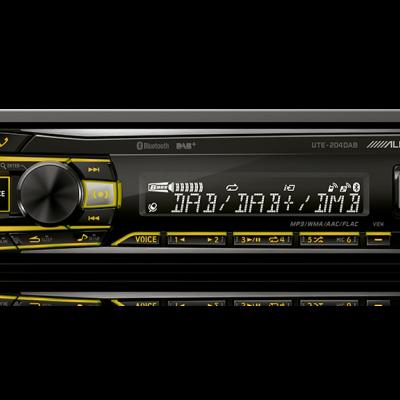 Autorradio Digital com DAB / BLUETOOTH / AUX / USB / FLAC UTE-204DAB