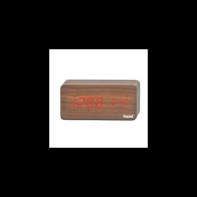 Despertador SAMI Madeira Escura LD10406D