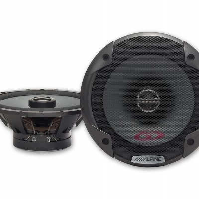 "Alpine 6-1/2"" (16.5cm) COAXIAL 2-WAY SPEAKER SPG-17C2"