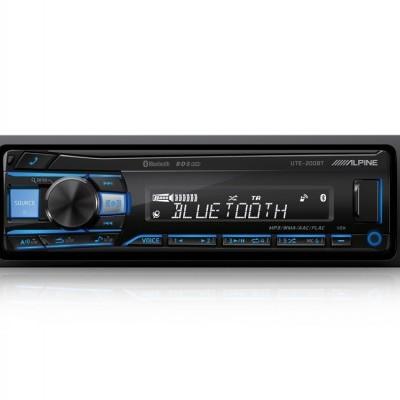 UTE-200BT Alpine Auto-Radio Multimédia Digital C/ Bluetooth® Cor Variável