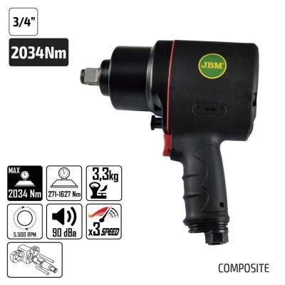 "PISTOLA IMPACTO JBM 3/4"" COMPOSITE 51212"