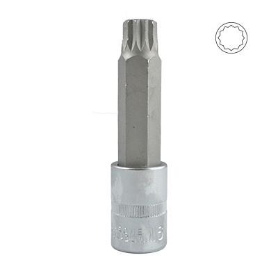 CHAVE PONTA 1/2'' XZN INVIOLÁVEL M16X100MM ESP.VAG 12030