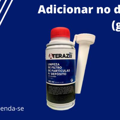Aditivo Limpeza Filtro Partículas 150ml em Promoção ATERAZINET NET1