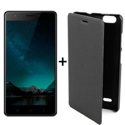 Elephone C1 MINI 1+16GB Desbloqueado Preto ELE20C1MINILN + Oferta de bolsa