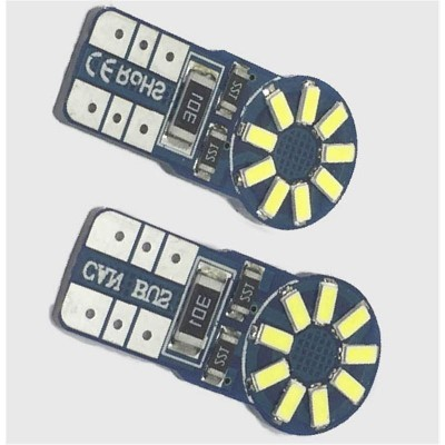 KIT LÂMPADAS T10 18 LED'S CAN BUS 3W LKLP112