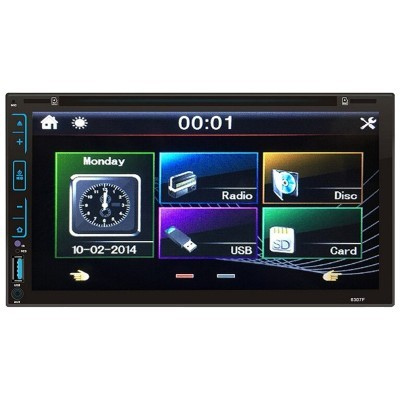 "Auto-radio 2 DIN DVD Android 5.1 Lollipop Bluetooth 7"" Táctil FY6307C"