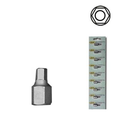 Pontas Hexagonais Inv. de 75mm (4-12mm)