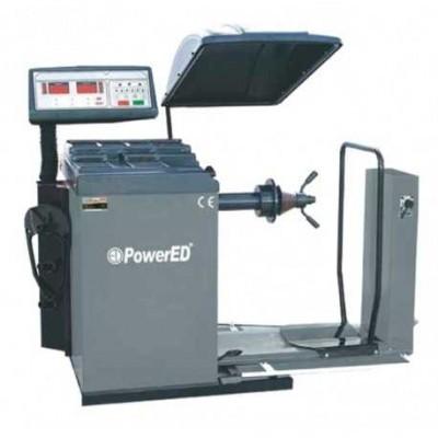 Máquina para Equilibrar Pneus Pesados com Ecrã PWBT