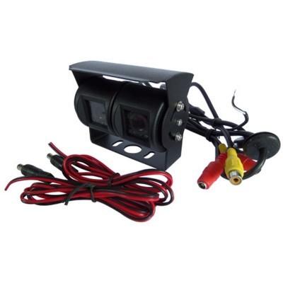 Câmera dupla traseira ideal para pesados e auto-caravanas LKCAM23
