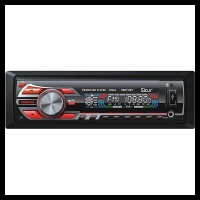 Autorrádio Sicur USB SD Bluetooth RMD216BT