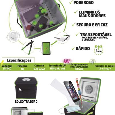 Gerador de ozono caixa esterilizadora de desinfecção 53838
