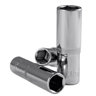"""Chave de 3/8"""" Hex de 65mml Cromada (10-20mm)"""