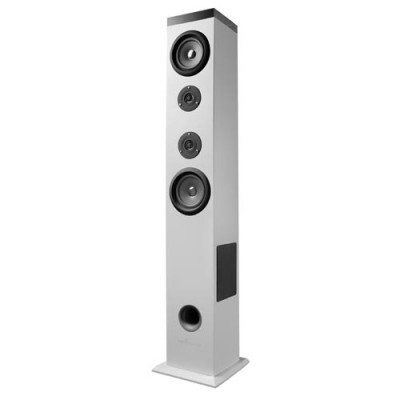 Torre de Som Energy Sistem 2.1 Tower 5 Bluetooth 60W, Branco, Touch, USB/Sd y FM