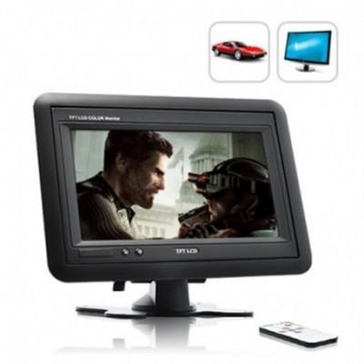 """Monitor Universal 7"""" TFT LCD Com Suporte ou de Encastrar 7019N"""