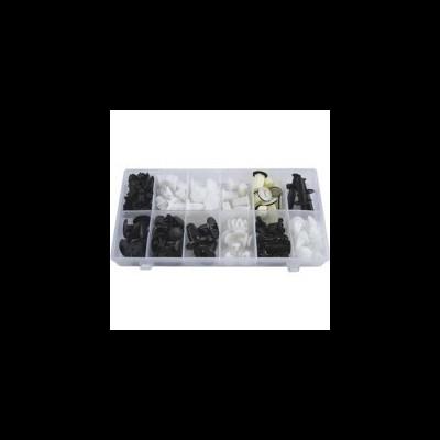 SORTIMENTO DE CLIPS PARA MITSUBISHI 132 PCS 52895
