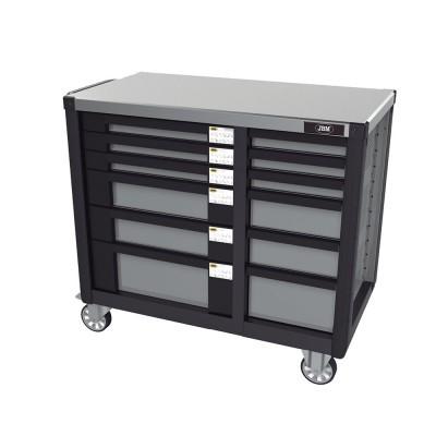 Carro de ferramentas com dupla coluna de gavetas JBM 51427
