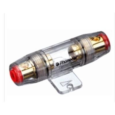 Suporte Fusíveis 10 x 38 mm Dourado Phonocar 4328