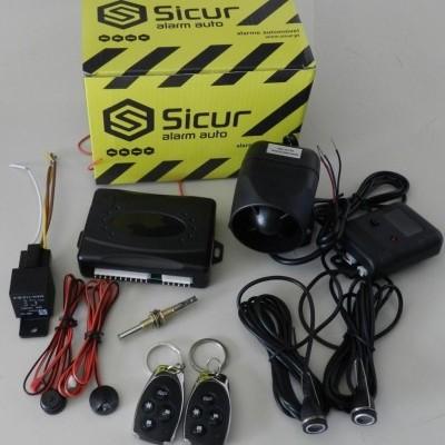 Alarme Sicur Sirene Auto-Alimentado com Comandos SC1401A