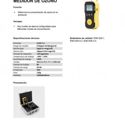 Medidor de ozono ou ozónio 53802