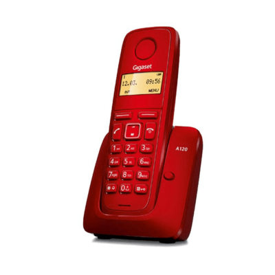 Telefone Sem Fios Dect Gigaset A120 Vermelho