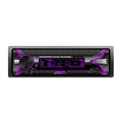 Auto-Rádio Bluetooth com Controlo Remoto RGB CDX-D4785BT
