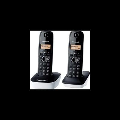 Telefone Dect Duo Panasonic 1612 Branco y Preto