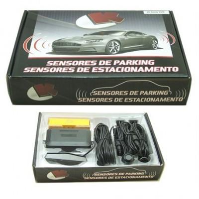 Kit Sensores de Park ou Estacionamento com Visor TIPO Mercedes LKKP400M