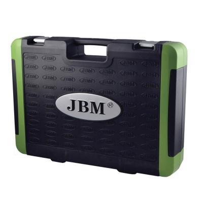 Caixa de Ferramentas com 94 Chaves JBM Hexagonais Cromadas 53011