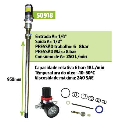 BOMBA DE ÓLEO 50918