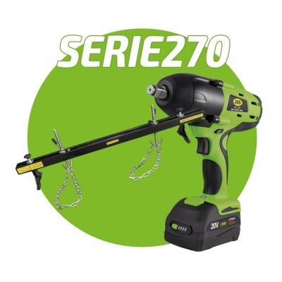 Kit Promocional Pistola de Impacto + Suporte para Motores SERIE270