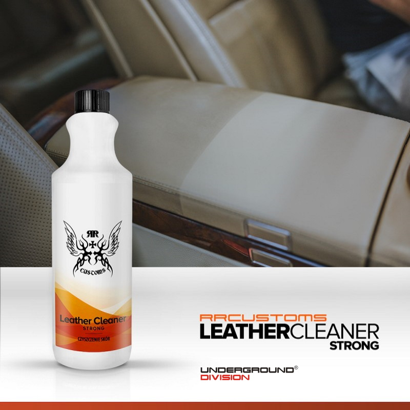 RRCUSTOMS LEATHER CLEANER STRONG 200mL