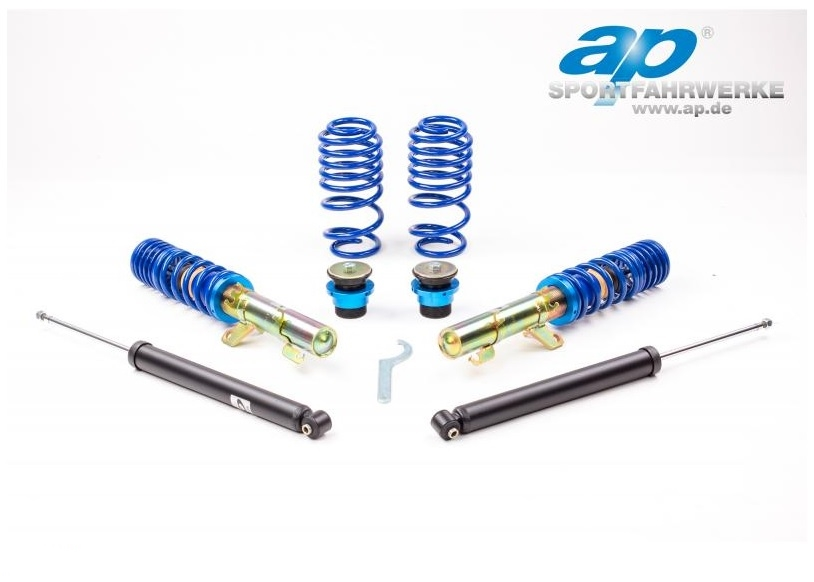 AP COILOVERS GF10-005 SEAT LEON 1M / AUDI A3 8L / VW GOLF IV / AUDI TT 8N FWD Only