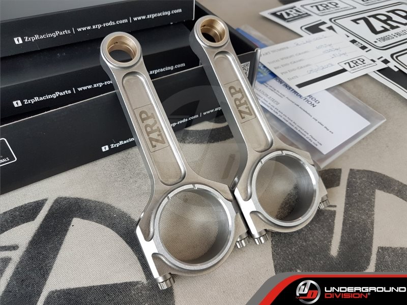 ZRP  Forged Connecting Rods VW / Audi 1.9L TDI PD Diesel 144×26