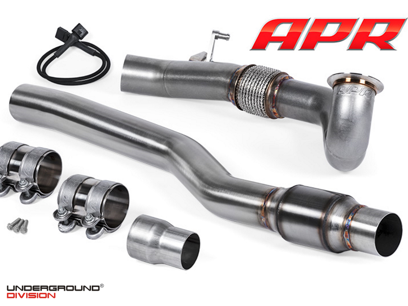 APR Cast Inlet Race DP Exhaust System (AWD - 1.8T/2.0T)