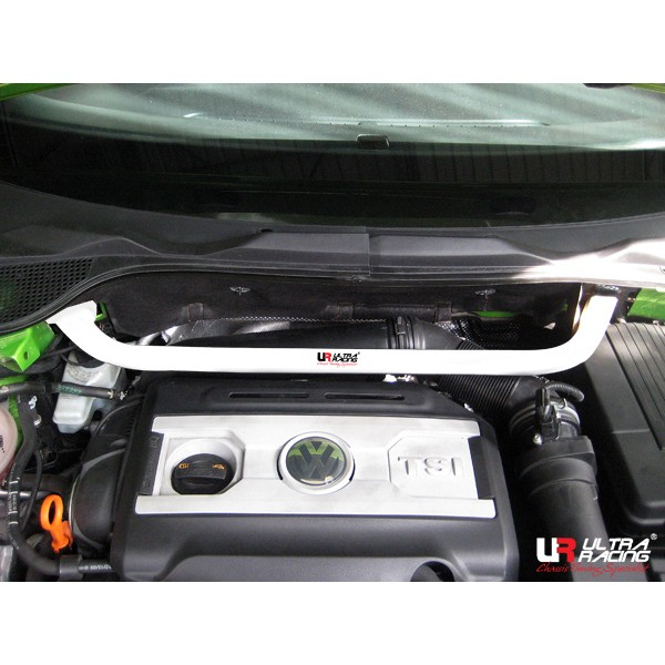ULTRA RACING 2 Point Front Upper Strutbar VW Scirocco 08+ 2.0T (CLEARANCE)