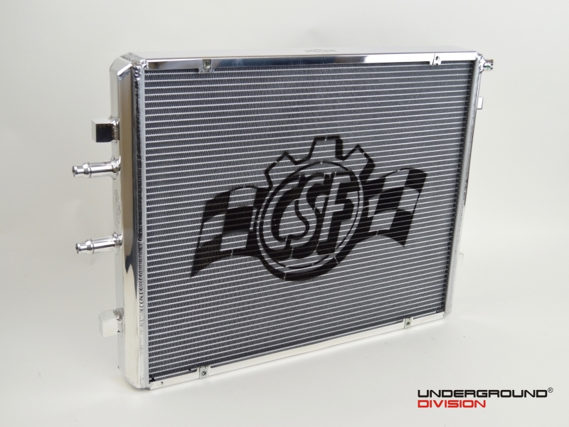 CSF RACE - FRONT MOUNT HEAT EXCHANGER WITH ROCK GUARD - RACE VERSION BMW M2 Competition / M3 F80 and M4 F82