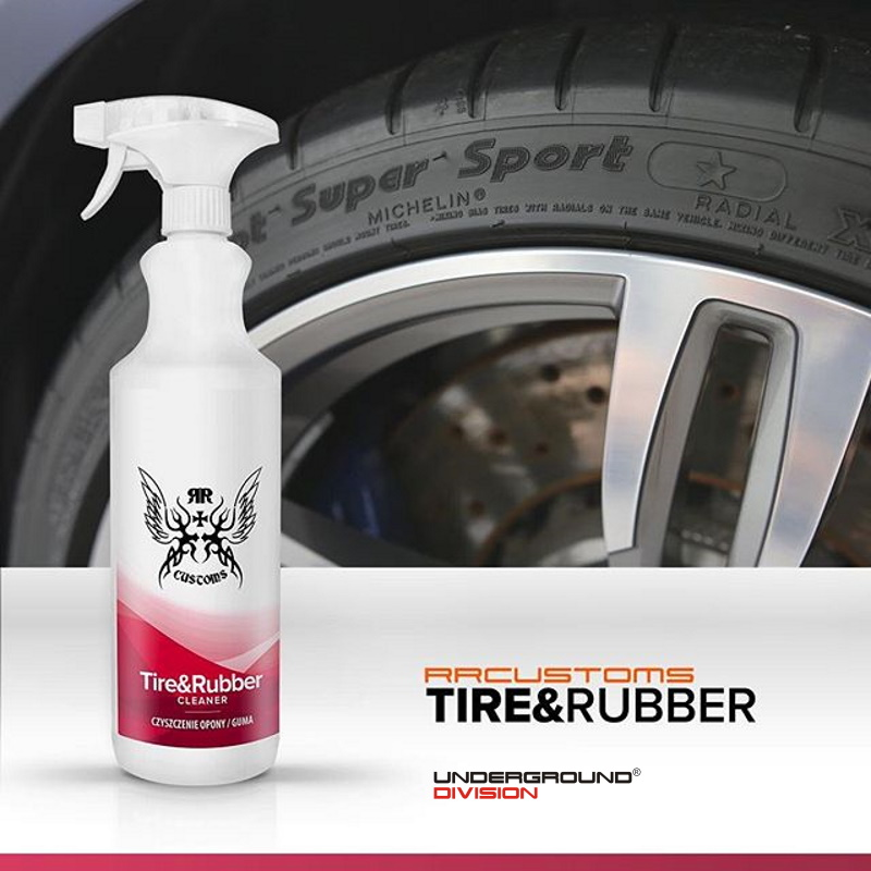 RRCUSTOMS TIRE&RUBBER CLEANER 1000mL