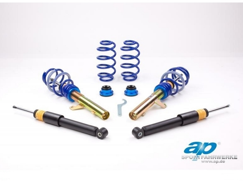 AP COILOVERS GF10-040 SEAT ALTEA 5P / AUDI A3 8P / VW GOLF V / AUDI TT 8J (55MM STRUT DIAMETER) (Max. Axle Load VA-1170Kg HA-1150Kg)