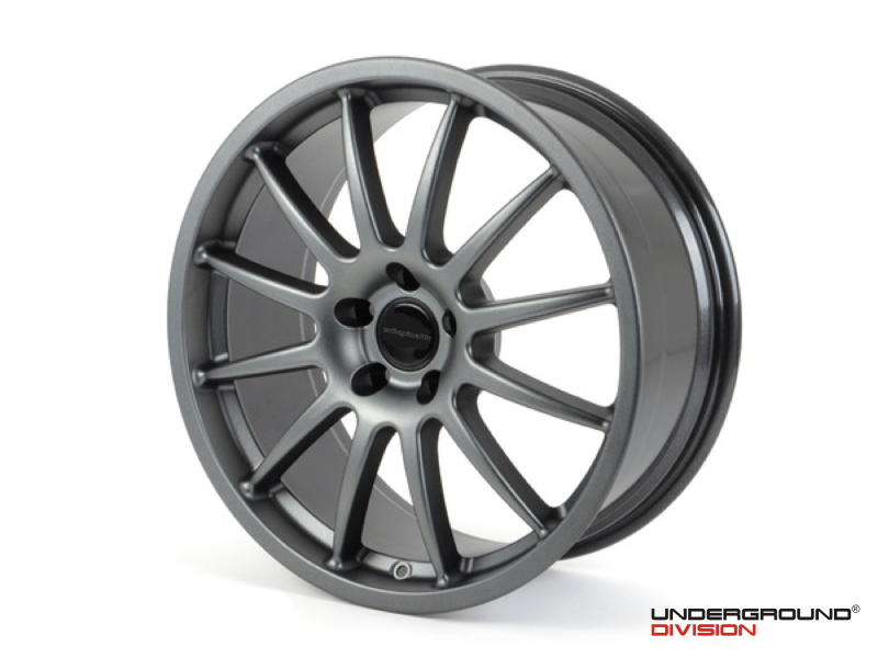"RACINGLINE 'CUP EDITION' LIGHT ALLOY WHEELS 18""x8'' & 18''x9'' 5x112 Gunmetal Grey - SET OF FOUR"