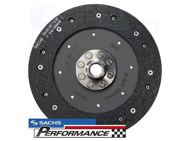 SACHS Performance Clutch Disc Organic 240MM (550NM) VAG 2.0TDI & R32 - 881864.999529 (ONLY FOR LUK DUAL MASS FLYWHEEL)