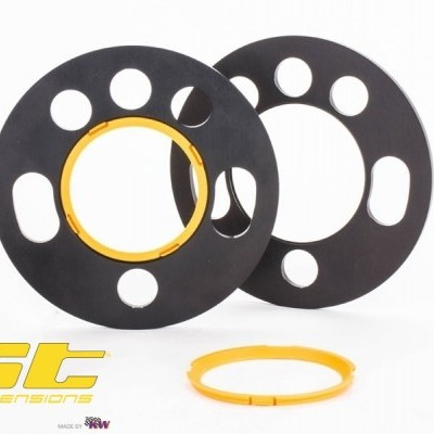 ST Wheel Spacers Pair of DZX 5mm/Spacer Universal Fit (Ø155mm)