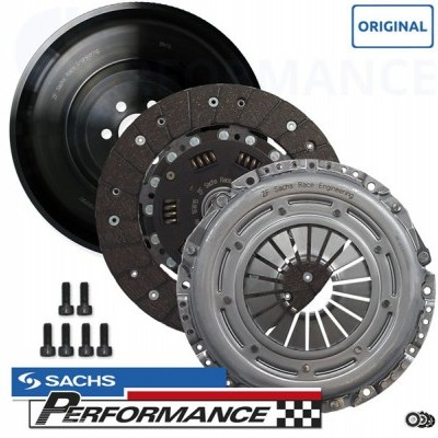 SACHS Performance Complete Performance Clutch Kit with light one mass flywheel (7.2kg) 530+NM (GOLF MK4 R32 QUATTRO)